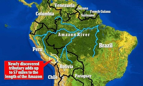 Have we finally discovered the source of the Amazon river? | Colombia | Scoop.it