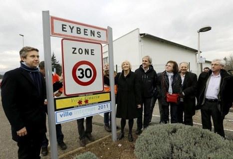 Au 1er janvier, on roulera à 30 km/h dans l'agglo grenobloise   Prévention et Signalisation Routière   Scoop.it