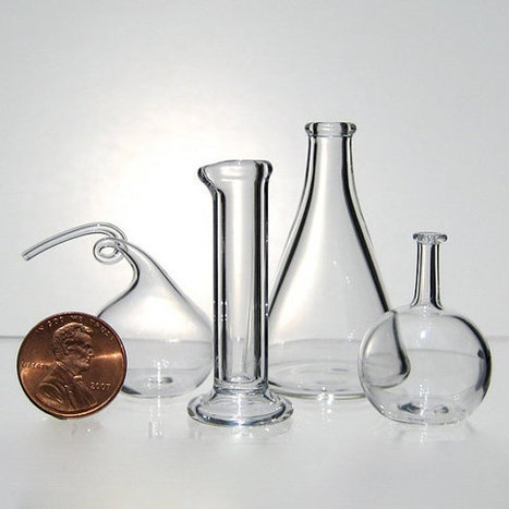 Chemistry Set, Miniature Hand Blown Glass | bain de Marie: Women and the roots of botanical chemistry | Scoop.it