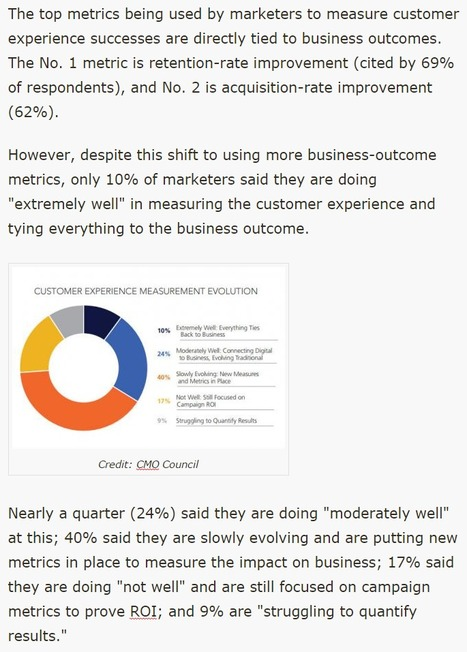 Marketers Are Changing Their Approach to Measuring Customer Experience - Ad Age | 21st Century Public Relations | Scoop.it