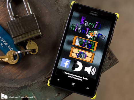 Kami's Nightmare, endlessly falling from your Windows Phone (or Windows 8 device) | Pocketpt.net | Scoop.it
