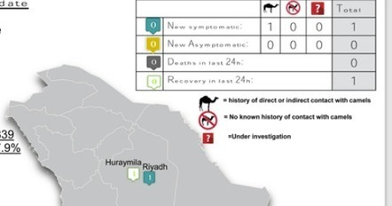 Avian Flu Diary: Saudi Arabia Reports 1 Primary MERS-CoV Case (Indirect-Camel) In Riyadh | MERS-CoV | Scoop.it