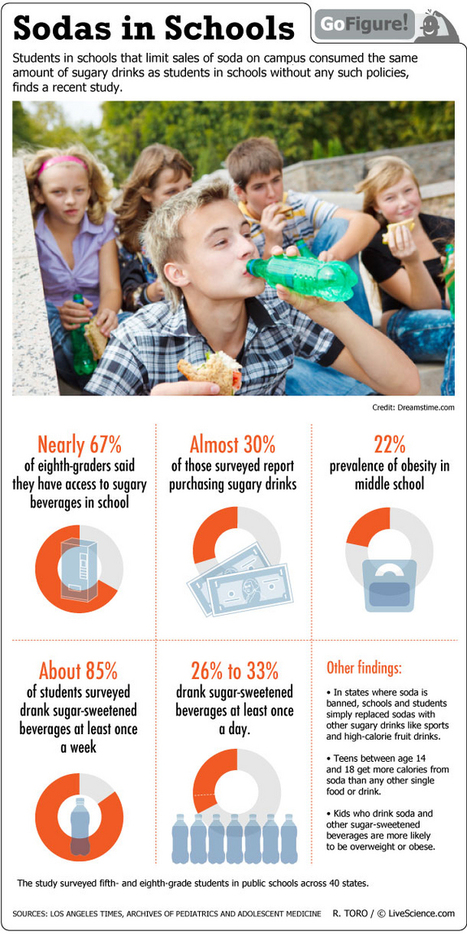 Students Love Sweet Soda (Infographic) | Sweet Beverages & Kids' Health | Healthy Eating & Soft Drinks | LiveScience | Go Sugar Free Now | Scoop.it