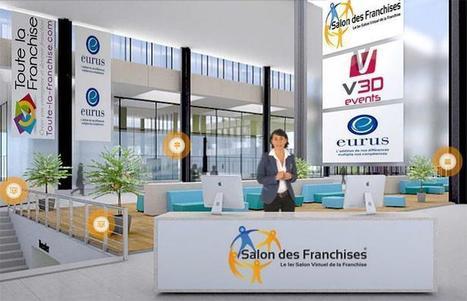 Plus de 3.000 visiteurs uniques pour la 3e édition du Salon virtuel des franchises !   Franchise 2.0   Scoop.it
