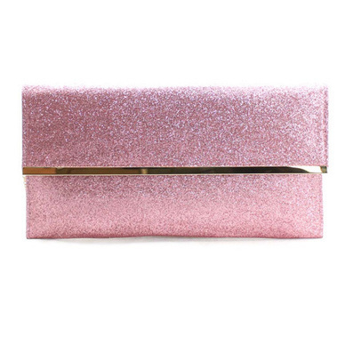 Cute Pink Glitter Metallic Fold OverLe ChicBella Purse | Le Chic Boutique | Scoop.it