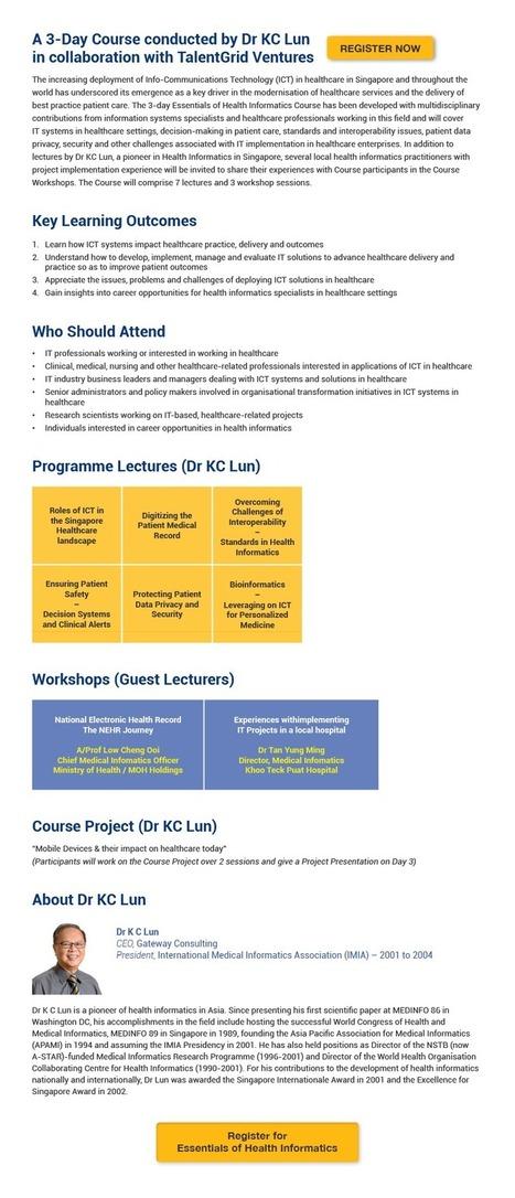 Essentials Of Health Informatics | Health and Biomedical Informatics | Scoop.it
