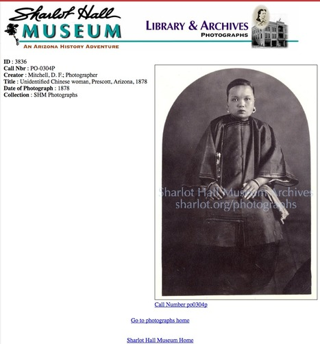 Sharlot Hall Museum : Archives : Photographs | Chinese American history | Scoop.it