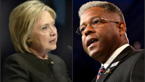 "Allen West ""Mrs. Clinton, I have ONE WORD in response to your gum bumping about the NRA"" 