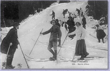 Histoire du ski dans les Hautes-Pyrénées   Loucrup 65   Vallée d'Aure - Pyrénées   Scoop.it