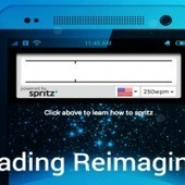 Hate reading slowly? Spritz aims to allow people to read 1,000 words per minute | Technology | Scoop.it