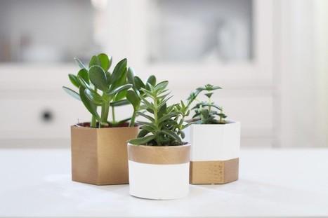 Cache pots en carton DIY | Récup Création | Scoop.it