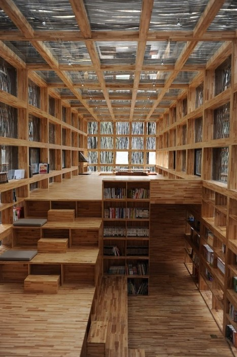 Liyuan Library by Li Xiaodong Atelier | Architecture, Urbanisme | Scoop.it