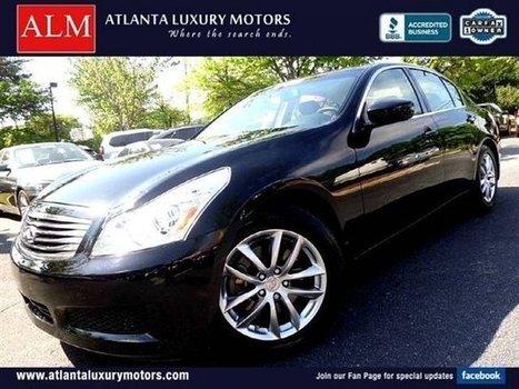 2009 G37 Sedan for sale, Used Infiniti G37 Sedan in Roswell GA, $24999, 43701 Miles, Black Obsidian | Atlanta Events | Scoop.it
