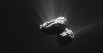 Rosetta a peut-être percé le secret de la naissance des comètes   Beyond the cave wall   Scoop.it