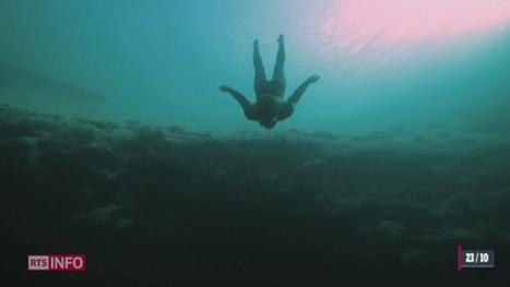 le 19:30 - Guillaume Néry, champion d'apnée, a plongé dans le Léman | Guillaume Néry | Scoop.it