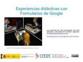 CeDeC. 13 actividades didácticas con Google For...   ELE   Scoop.it