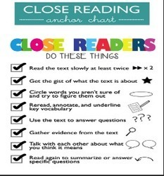 2 Wonderful Classroom Posters on Close Reading ~ Educational Technology and Mobile Learning | Reading Challenge | Scoop.it