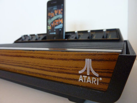 Classic Atari 2600 Comes Back To Life As iPhone Speaker Dock | Telecom trends & Digital wonders | Scoop.it