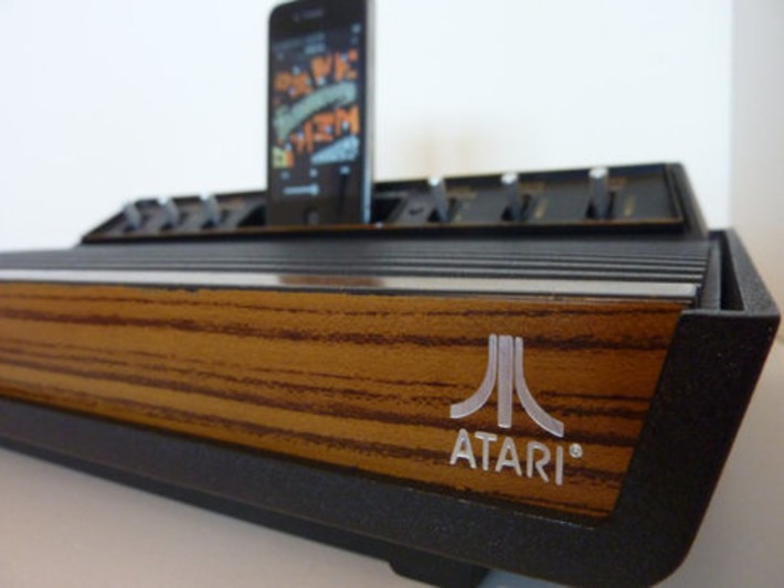 Classic Atari 2600 Comes Back To Life As iPhone Speaker Dock | Kitsch | Scoop.it
