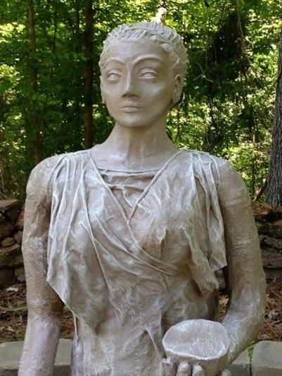 How Jackie Made Her Outdoor Figure Sculpture | Creative PaperMache | Scoop.it