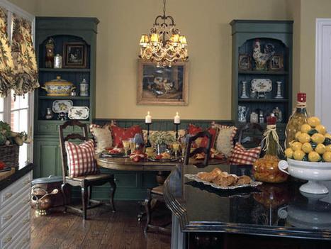 Country Style Interior Design | InteriorHolic.com | Home Decor | Scoop.it