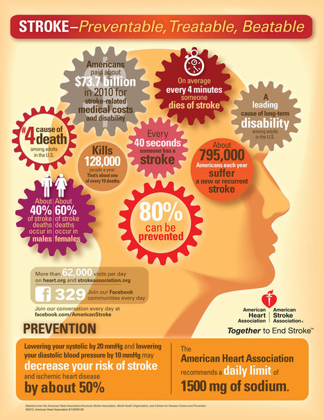 Stroke Infographic | Health and Wellness | Scoop.it