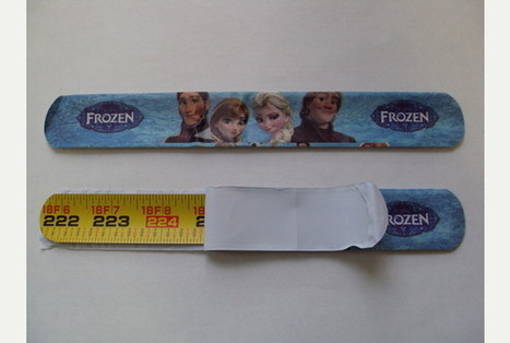 Frozen bracelets: Warning ahead of Christmas over dangers posed by counterfeit merchandise made of metal measuring tape   Anti-counterfeiting   Scoop.it