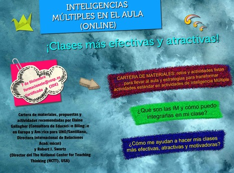 NUEVA Jornada Práctica para Profesores de Español: INTELIGENCIAS MÚLTIPLES EN EL AULA | CEsp Magazine (Noviembre) | Scoop.it