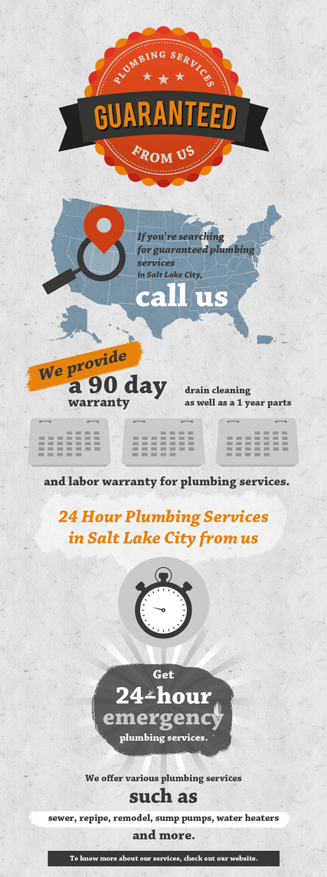 Guaranteed Plumbing Services from Quick Response Plumbin   Drain Cleaning Services in Salt Lake City   Scoop.it