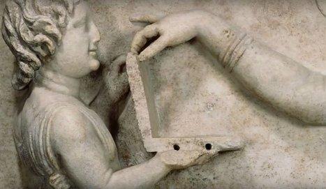¿Qué hace una laptop en un friso griego esculpido hace 2 mil años? (FOTO) | Mundo Clásico | Scoop.it