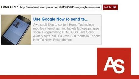 Facebook Like URL Fetching   Awaissoft   Scoop.it