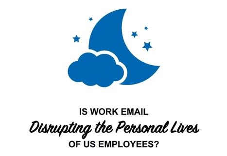 1 salarié sur 4 consulte ses emails professionnels après le travail - Blog du Modérateur | BeginWith | Scoop.it