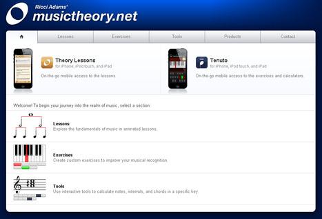musictheory.net | Secondary Music | Scoop.it