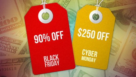 Everything You Need to Know About Black Friday and Cyber Monday | Food | Scoop.it