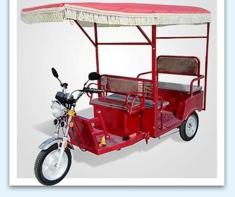 Electric Rickshaw Manufacturers Delhi, India   Rickshaw   Scoop.it