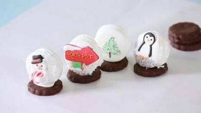 How to Make Sandwich Cookie Snowglobes | Random Recipes | Scoop.it