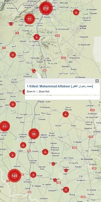 Crisis Mapping Syria: Automated Data Mining and Crowdsourced Human Intelligence | The Programmable City | Scoop.it