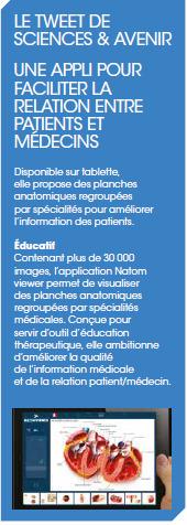 Nouvel article sur Natom Viewer dans Avenir et Santé ! | La revue de presse de Callimedia | Scoop.it