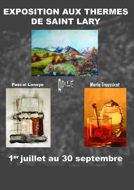 Des artistes aurois aux thermes de Saint-Lary | Vallée d'Aure - Pyrénées | Scoop.it