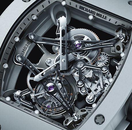 Richard Mille RM 038 Tourbillon Bubba Watson   Art, Design & Technology   Scoop.it
