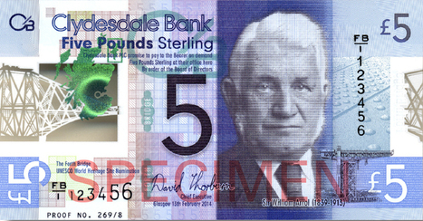 Sir William Arrol on new polymer banknote launched by Clydesdale Bank   Sir William Arrol   Scoop.it