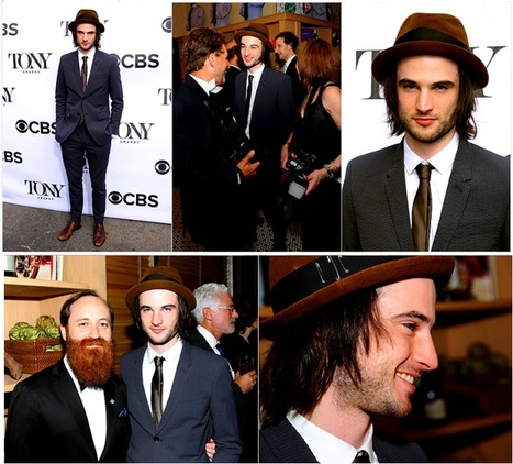 Tom Sturridge in 2013 Tony Awards Eve Cocktail Party | Additionals | Scoop.it