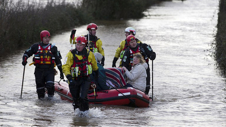 'Biblical flooding' spreads across UK in worst rainfall in over 200 ... | KS4@UCGS | Scoop.it