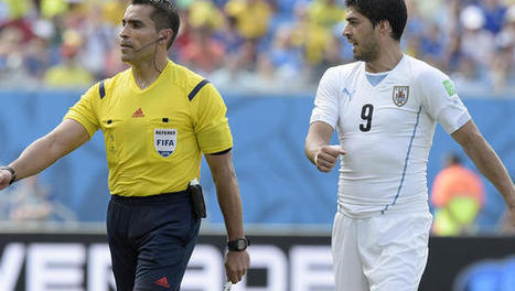 World Cup 2014: Referee who missed Suarez bite gets Brazil-Germany semifinal - CBS News | FIFA World Cup 2014 | Scoop.it