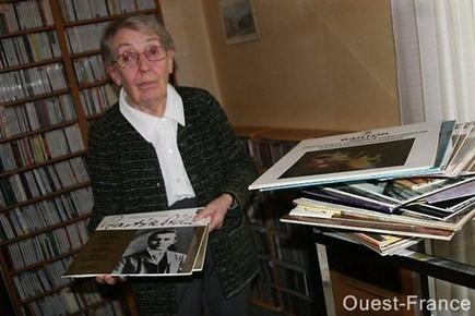 Elle offre à la médiathèque d'Orvault la collection de disques de son mari | Musique en bibliothèque | Scoop.it