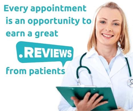 Every appointment is an opportunity to earn a great review from patients | Online Reputation Management for Doctors | Scoop.it