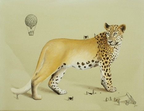 Artist Imagines the Tiny People Who Make Animals Possible | nume&arts | Scoop.it