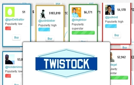 Influencia - Audace - Twistock : la bourse des twittos ? | Societal and economic Innovation | Scoop.it