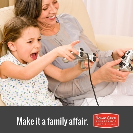 Activities for seniors and their Grandkids | Home Care Assistance of Denton County | Scoop.it