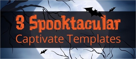 3 Spooktacular Captivate Templates - eLearning Brothers | eLearning Templates | Scoop.it